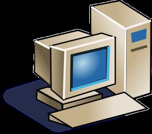 old IBM computer